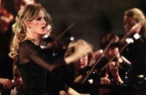 Inma Shara concierto en el Vaticano.